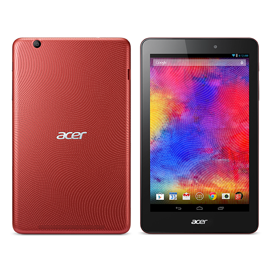 "Acer Iconia One 8 B1-810 16GB tablet 8"" - červený"