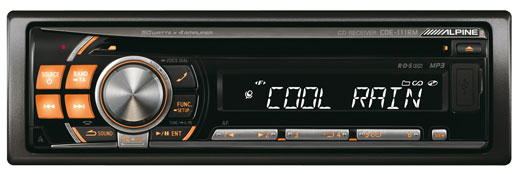 Alpine CDE-111RM  CD/MP3/USB aut,