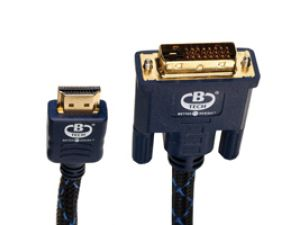 B-TECH BTXL41100 HDMI-DVI kabel 10m
