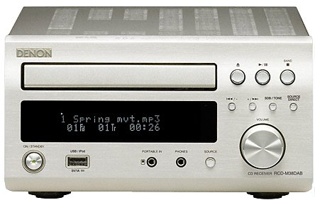 Denon RCD-M38 PS CD receiver