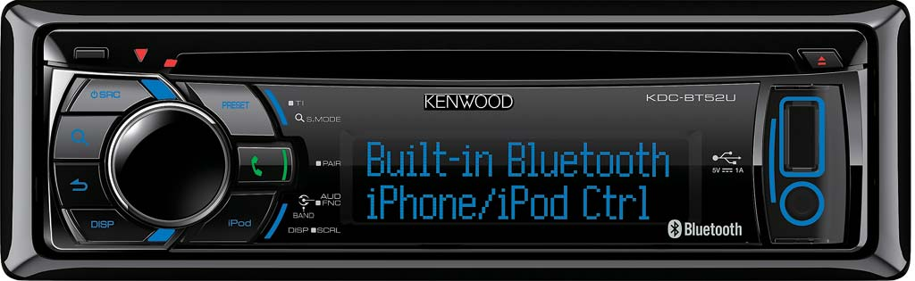 Kenwood KDC-BT52U CD/USB/BT autorádio