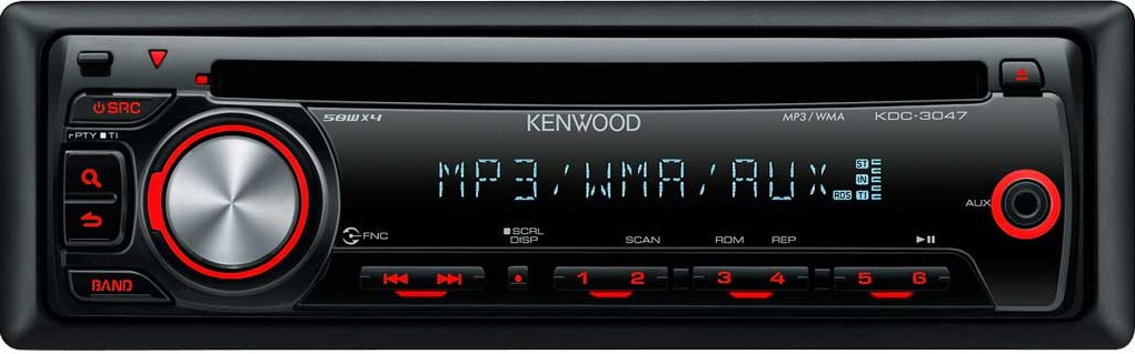 Kenwood KDC-3047A, CD/MP3 autorádio