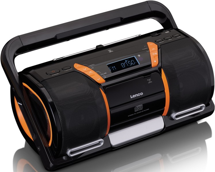 Lenco Boost-8 Boombox s CD/MP3 a Bluetooth
