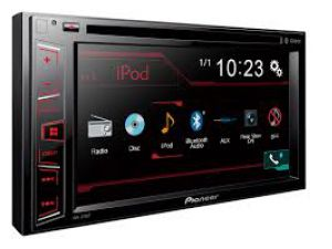 Pioneer AVH-270BT 2-DIN autorádio s CD/DVD/USB/Bluetooth