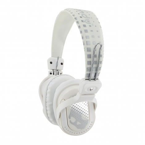 Skullcandy Agent White/Chrome Sluchátka