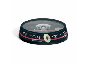TDK CD-R 700MB, 10ks CAKE