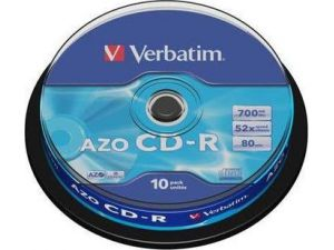 VERBATIM CD-R 700MB, 10ks CAKE