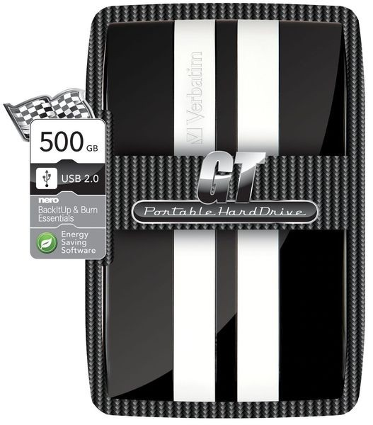 "Verbatim HDD GT 500GB Black 2.5"" USB 2.0 5400RPM"