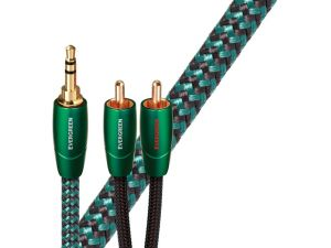 Audioquest Evergreen Propojovací kabel Jack 3,5mm - 2 x RCA 1m